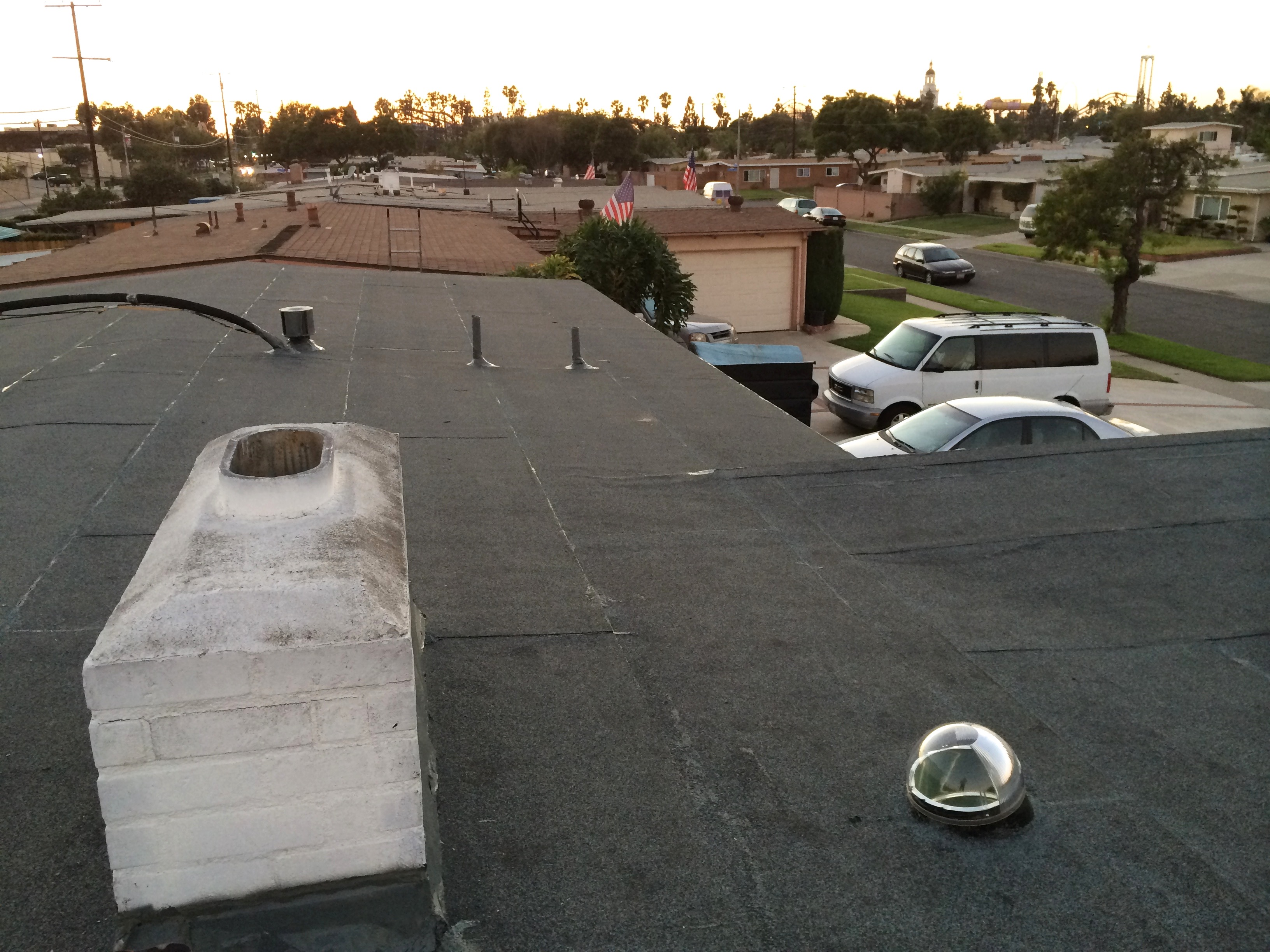 Hot Asphalt Water Repellent Cap Sheet - Solar Tube